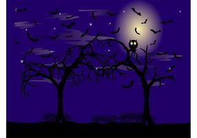 Vector Halloween Night