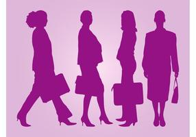 Businesswomen Vector