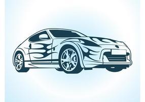 Gráficos de carros vetoriais