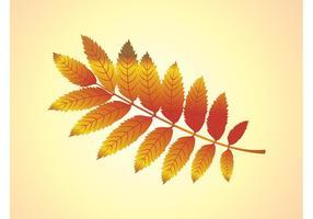 Vector de la rama de otoño