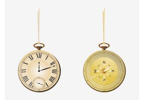 Zakhorloge En Kompas