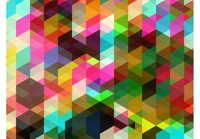 Fondo colorido de las formas