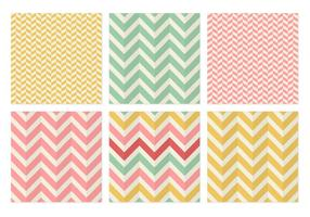 Herringbone Chevron Seamless Vector Patterns