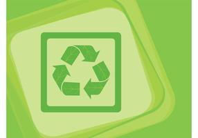 Recycling Icon Vektor
