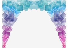 Färgrik kvadrera vektor