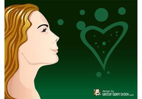 Happy Woman Vector