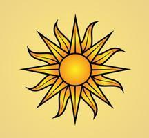 Vector-sun