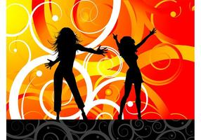 Dancing-girls-vector
