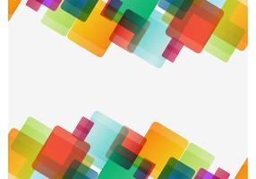 Gráficos coloridos dos quadrados