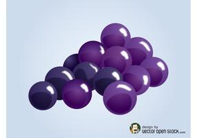 Vector Grapes