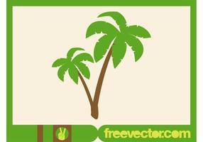 Vector de palmeiras