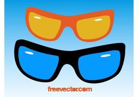 Gafas de sol Clip Art Vectorial