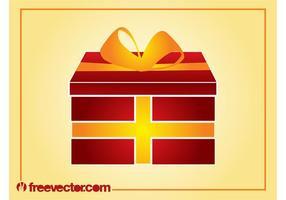 Vecteur cadeau de Noël