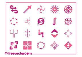 Desenhos de flechas