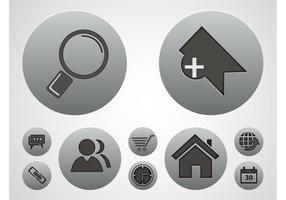 Tech Icons Vectors Set