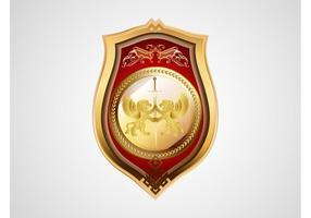 Heraldic Badge Vector