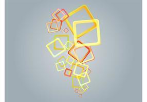 Art vecteur de carrés colorés