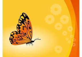 Vecteur papillon fond