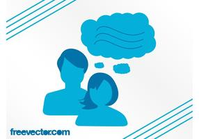 Kommunikation Vektor