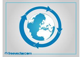 Earth Vector Icon