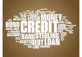 Financial Terms Vector