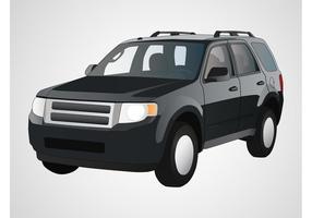 Vector de SUV