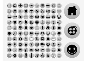 Colección de iconos de vector