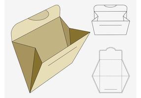 Carpeta de trabajo de papel