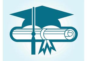 Graduation Cap Vector | Free Vector Art at Vecteezy!
