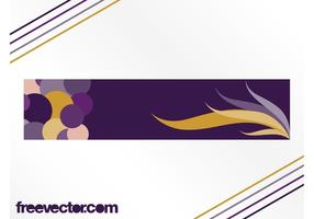 Abstrait Vector Banner