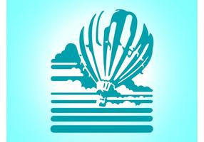 Vôo de balão de ar quente