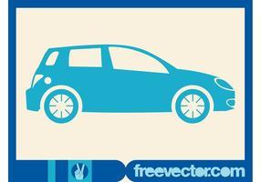 Blue Hatchback Auto