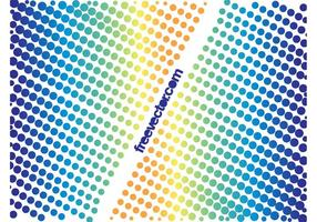 Desenhos Halftone Coloridos