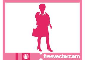 Businesswoman-with-briefcase-silhouette
