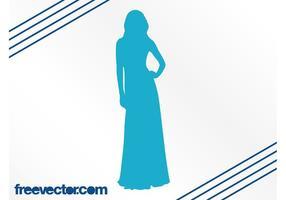Elegant Vrouw Silhouet