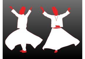 Derviches bailando