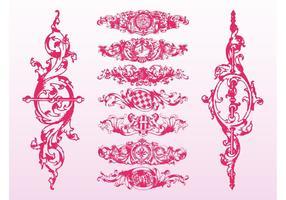 Rollos florales barrocos