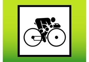 Cycling Person Icon