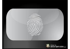 Fingeravtryck Visitkort
