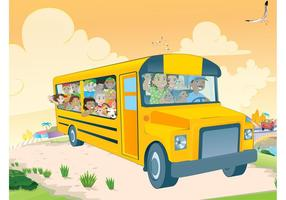 Kids In School Bus