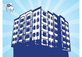 Grunge Urban Building