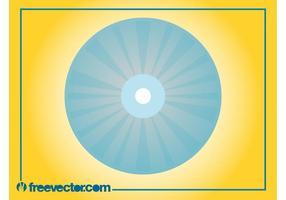 Stylized CD Illustration