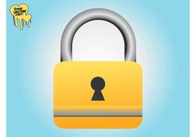 Closed Padlock Graphics