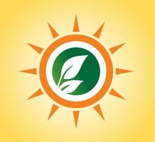 Sun-and-leaves-logo