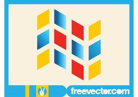 Geometrisk logotypmall