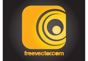 Logotipo cuadrado amarillo