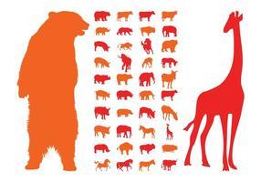 Animal Silhouettes Graphics