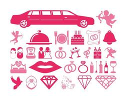 Wedding And Love Icons