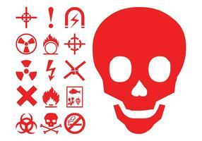 Hazard Symbols Icons