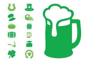Conjunto de ícones de Saint Patrick
